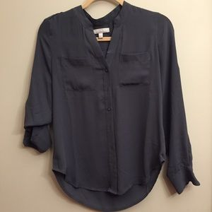 Banana republic slate blouse XS
